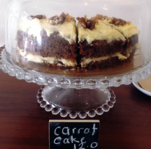 The old-fashioned Carrot Cake