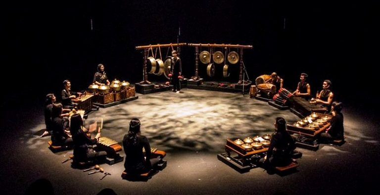 Malaysian gamelan troupe. Pic courtesy of TFA