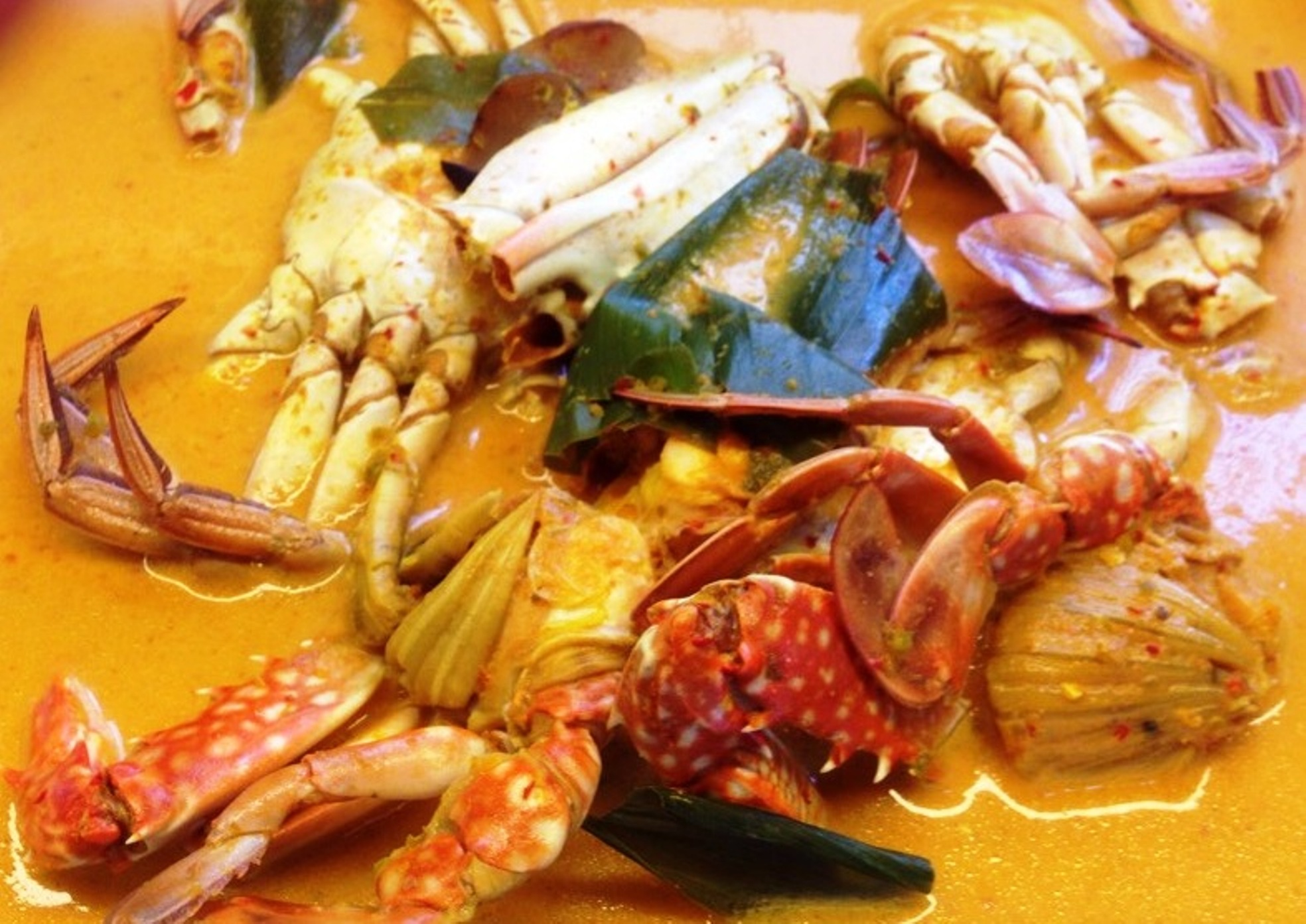 Crab Curry that's hard to resist