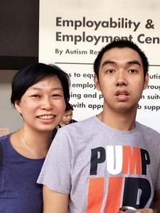 Jacquelyn Ang and son Ryan
