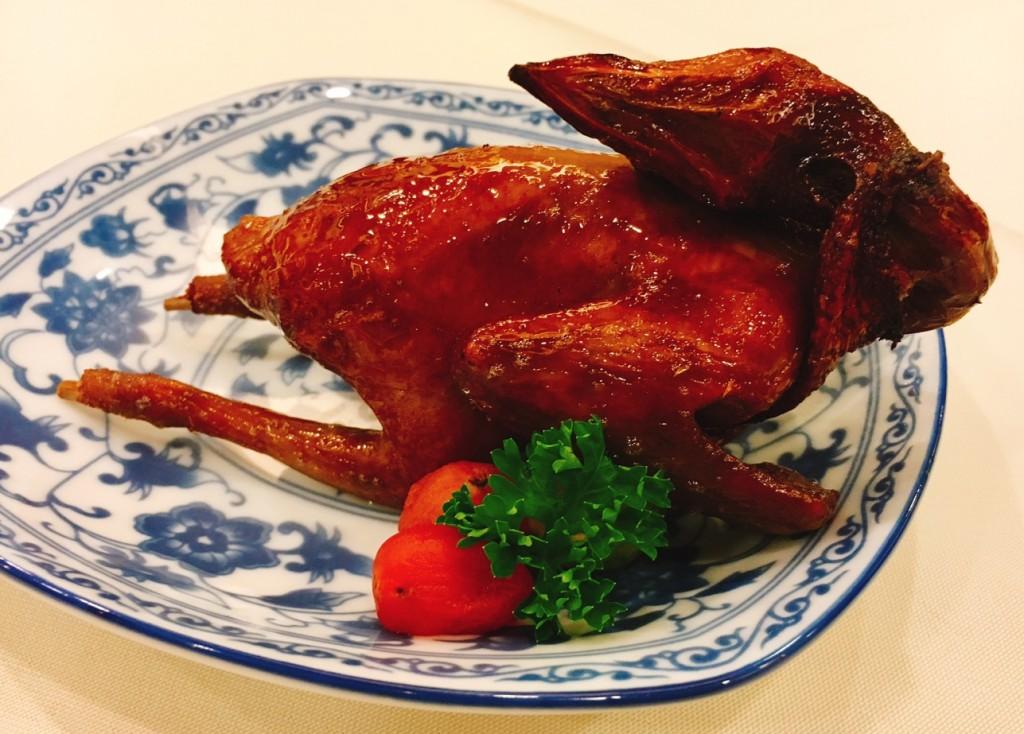 Roast Baby HK Pigeon -- juicy at every bite