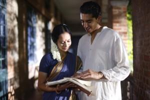 Devika Bhise and Dev Patel