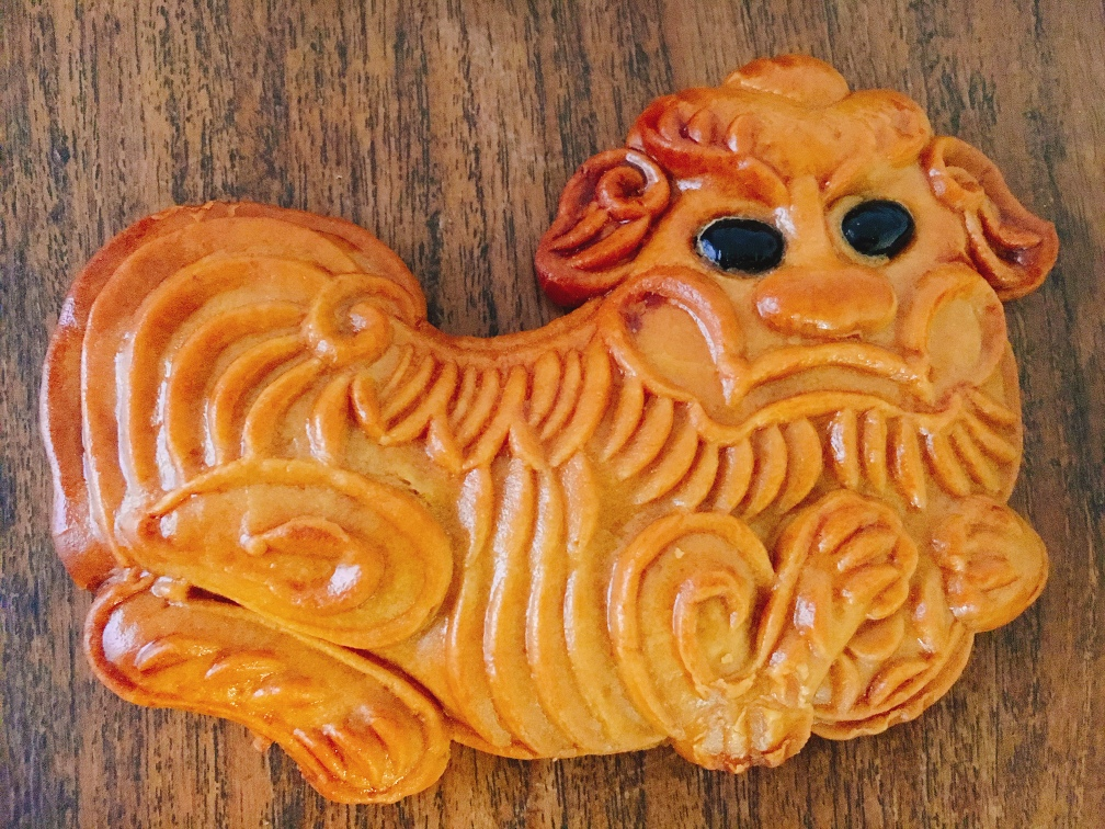 The Kirin biscuit from Bee Cheng Hiang