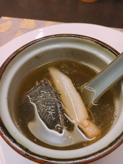 Double-boiled Black Chicken Ginseng Soup