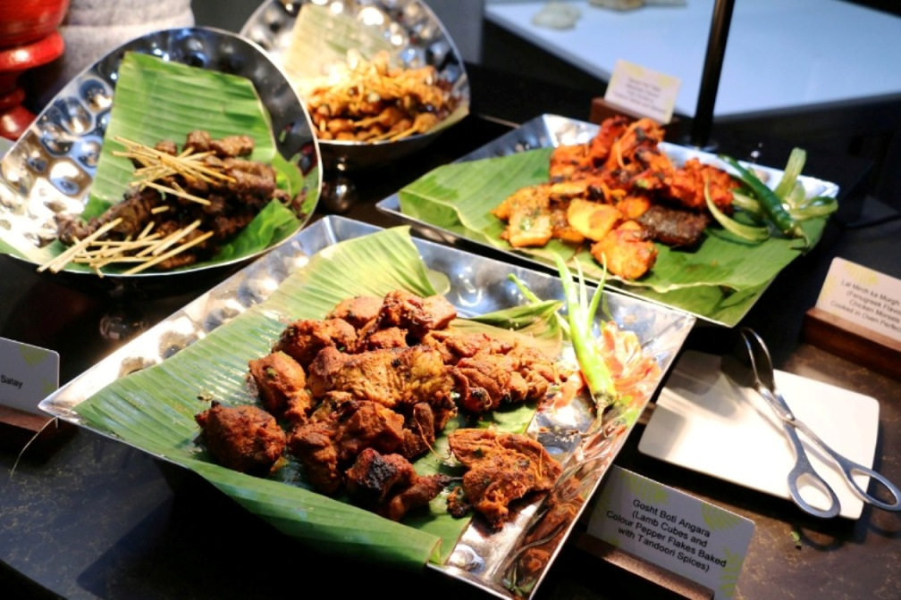 Malay and Indian dishes at the Asian Theatre Kitchen