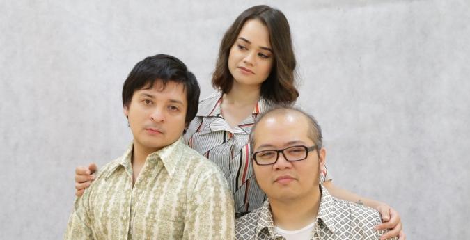 L-R Razif Hashim (Jerry), Stephanie Van Driesen (Emma) & Omar Ali (Robert)