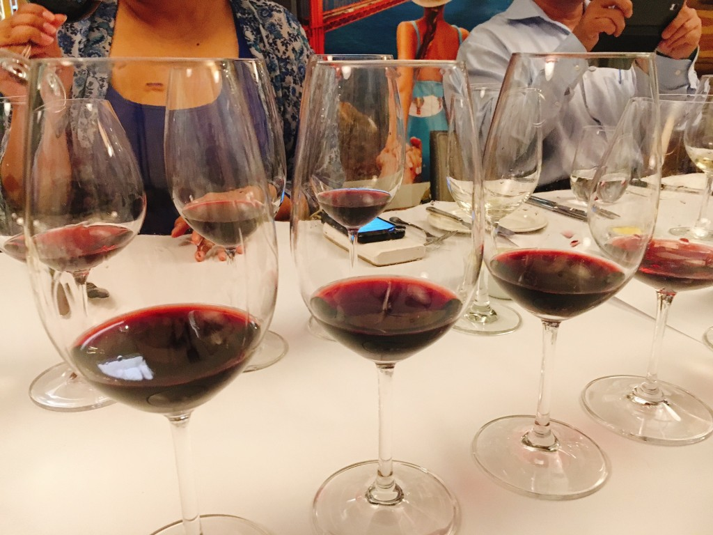 A tasting of premium reds from Napa Valley