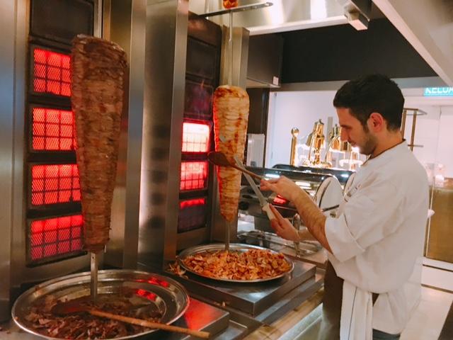 Lamb and Chicken Shawarma