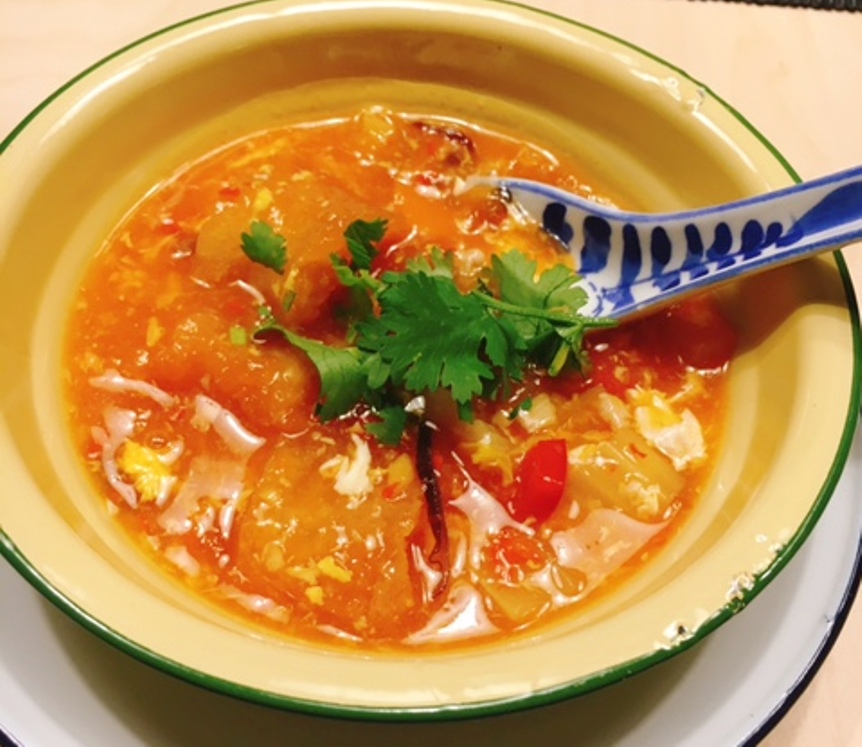 Hot and sour Fish Maw Soup