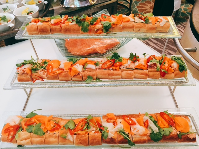 Banh Mi with Hot Smoked Salmon