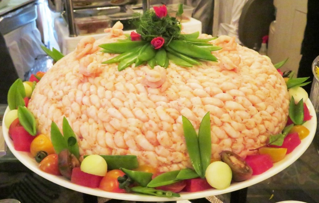 Norwegian Shrimp Tower