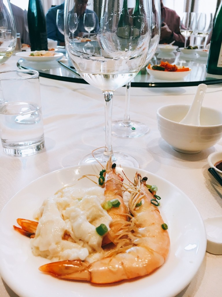 Steamed Prawns with Egg White go well with Bernkasteler Lay Riesling Kabinett 2015