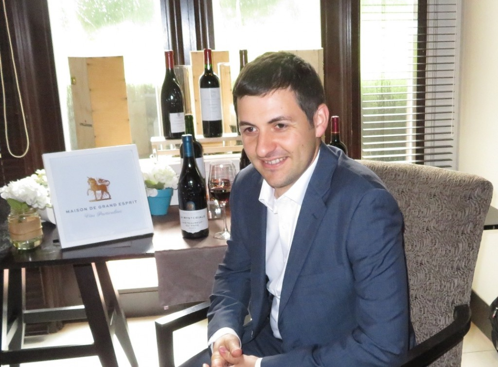 Winemaker Sebastien Long -- Creating a wine brand to let people know what to expect from France