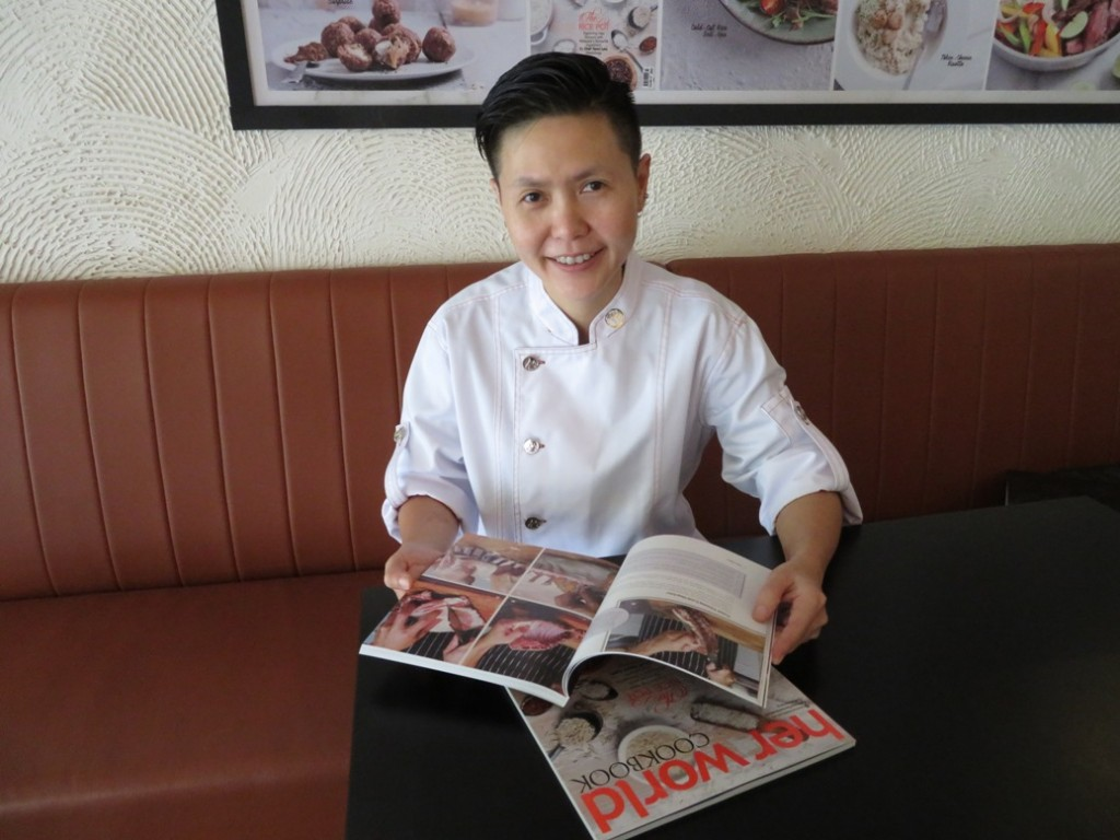 Chef Yenni Law has written 2 cookbooks -- 'Meatology' and 'The Rice Pot', Her World Cookbook 2017