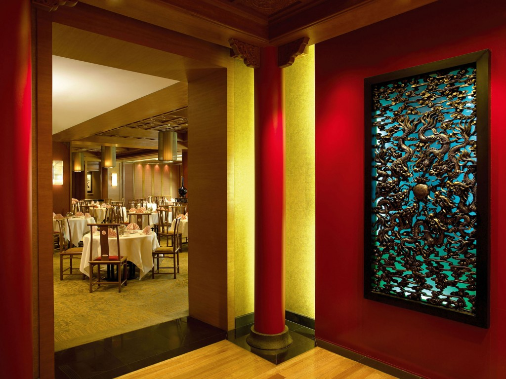 Sumptuous setting for dining at Shang Palace