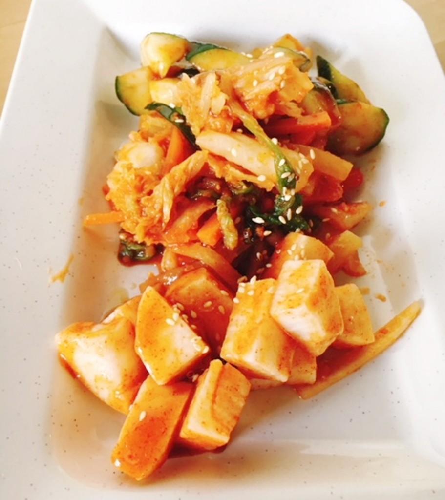 Assorted Japanese Kimchi