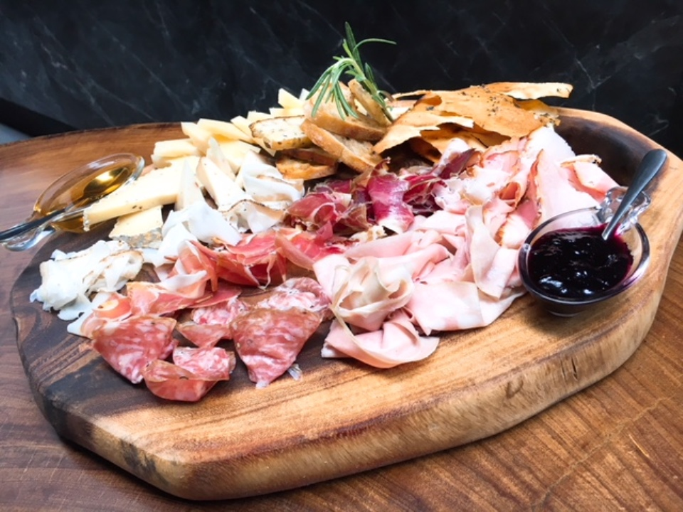Gran Tagliere -- signature cold cuts with assorted cheeses, honey and breads