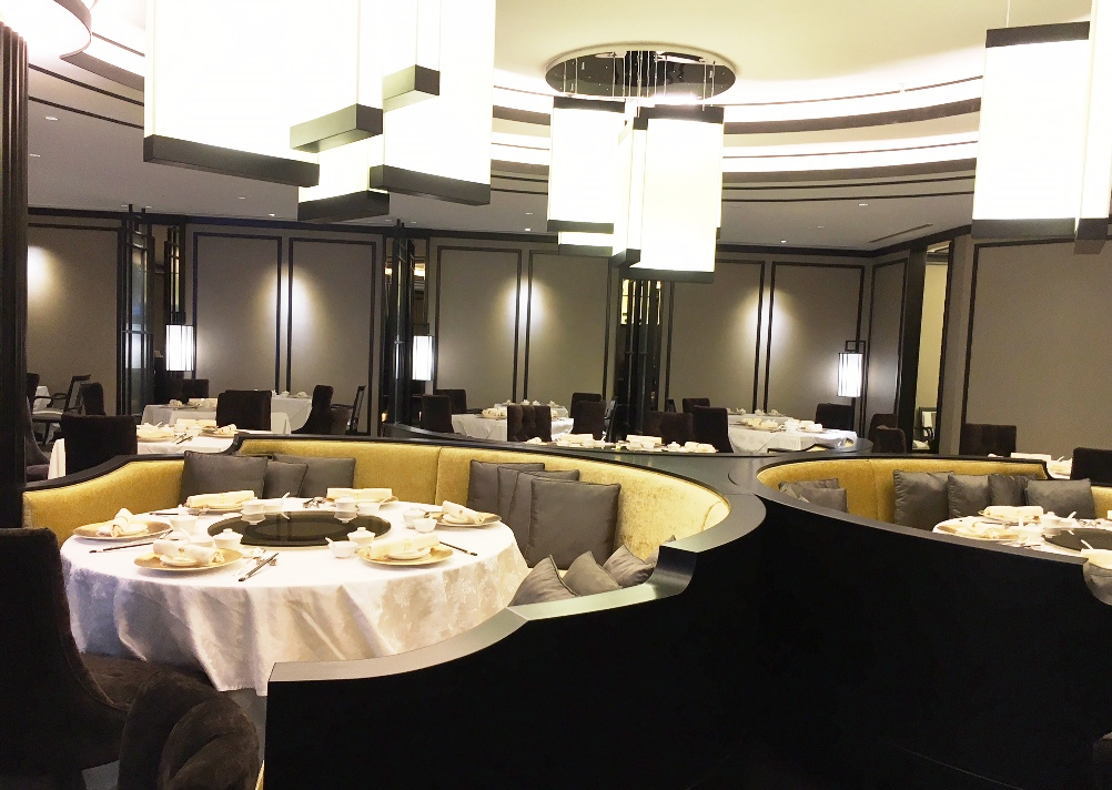 Another view of the interior at Shanghai