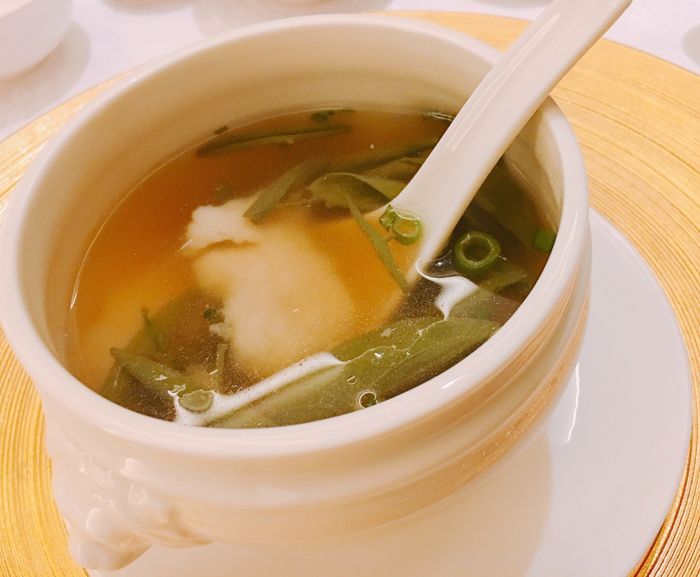 Bamboo Fish Fillet Soup with Wild West Lake Vegetables