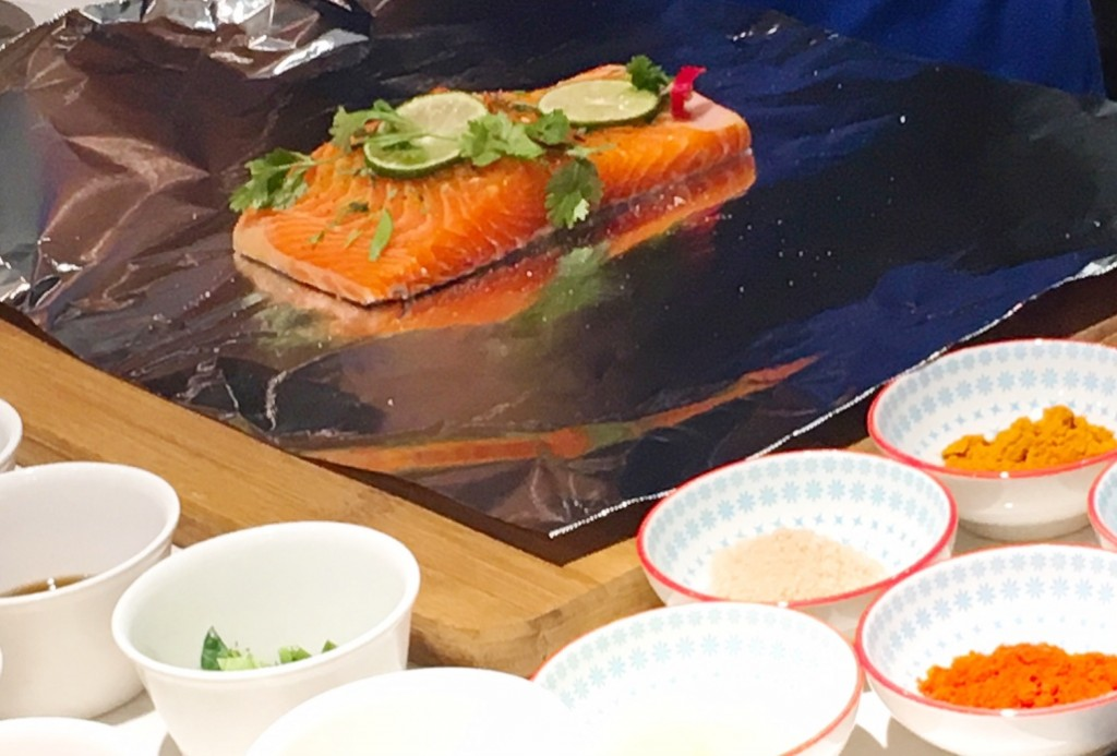 Spices and herbs go so well with the protein-rich  Norwegian Fjord Trout. It keeps you full for a longer time.