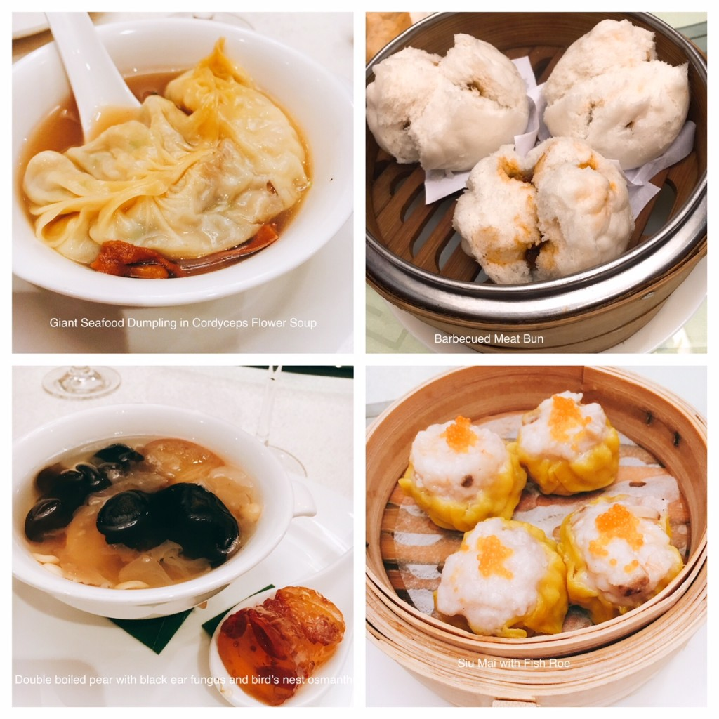 Some of the Dimsum at Elegant Inn, at half their prices for its 10th Anniversarycelebration till Aug 26. The Seafood Dumpling is part of the Executive Lunch Set