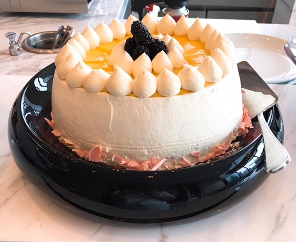 Chiffon Pandan Cake