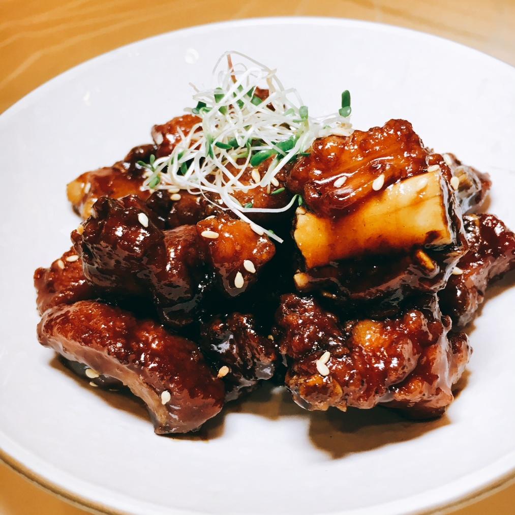 Zhenjiang Sweet & Sour Iberico Baby Pork Ribs