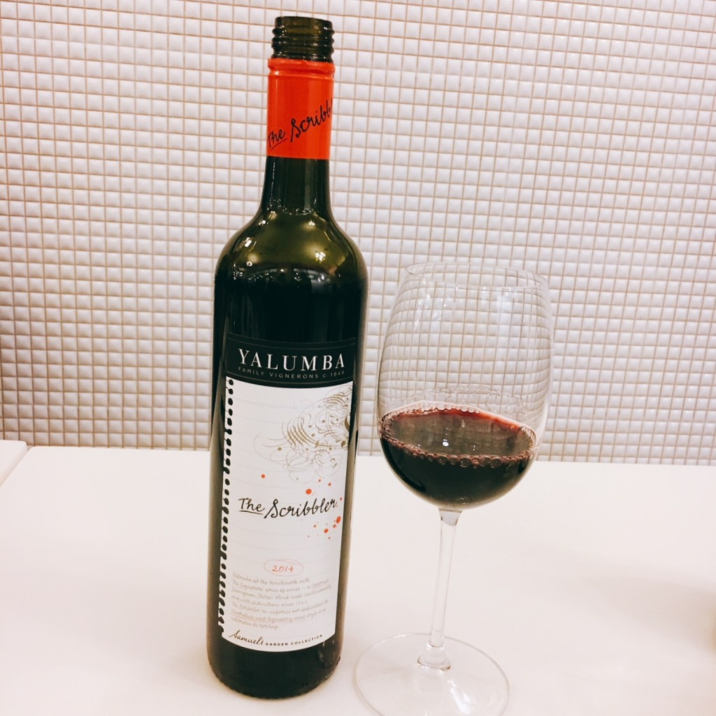 Yalumba The Scribbler -- Cabernet Sauvignon, Shiraz